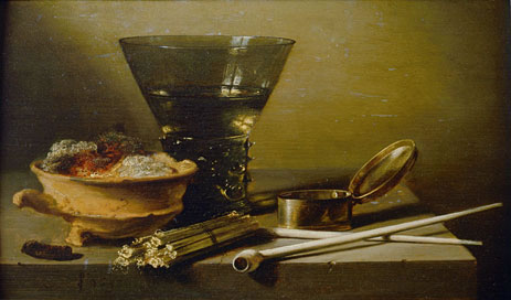 Still Life with Smoking Implements and Berkemeyer