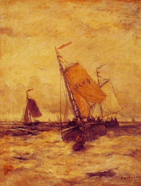 On a Stormy Sea