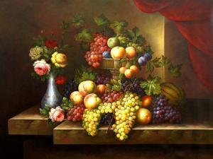Classic Fruit Still Life,oil paintings online