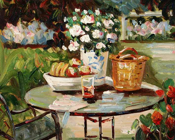 The Garden Table