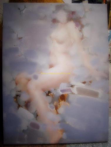 original impression nude oil painting #10