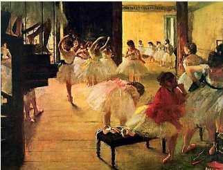 Ballet School - Edgar Degas