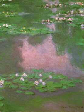 Water-Lilies 1905 (portrait detail)