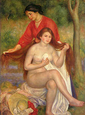 Bather and Maid