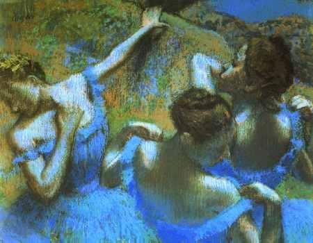 Blue Dancers (detail)