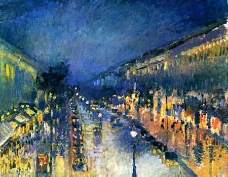 Boulevard Montmartre, Night Effect