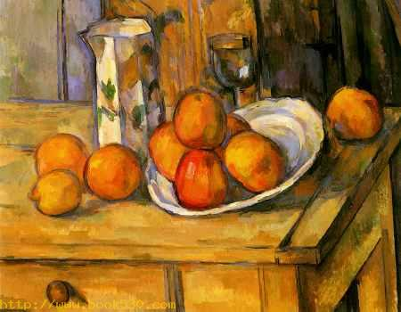 Still Life of fruit in the plate