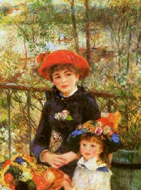 Two Sisters on the Terrace