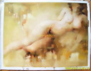 original impression nude oil painting #6
