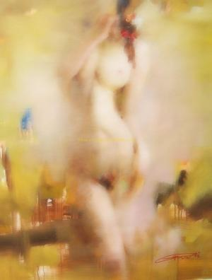 original impression nude oil painting #8