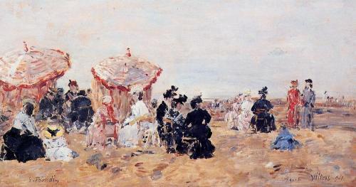 Villers, Beach Scene