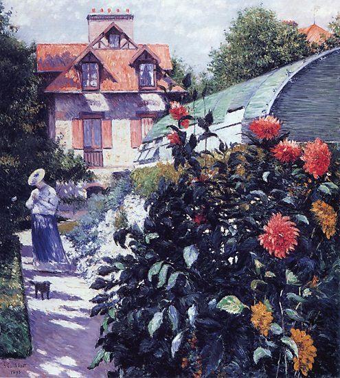 Dahlias - The Garden at Petit Gennevilliers