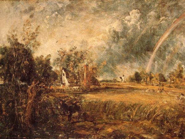 Cottage, Rainbow, Mill