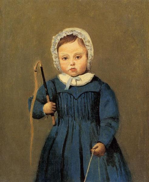 Louis Robert as a Child