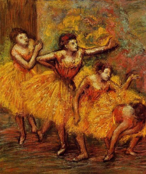 Four Dancers 3