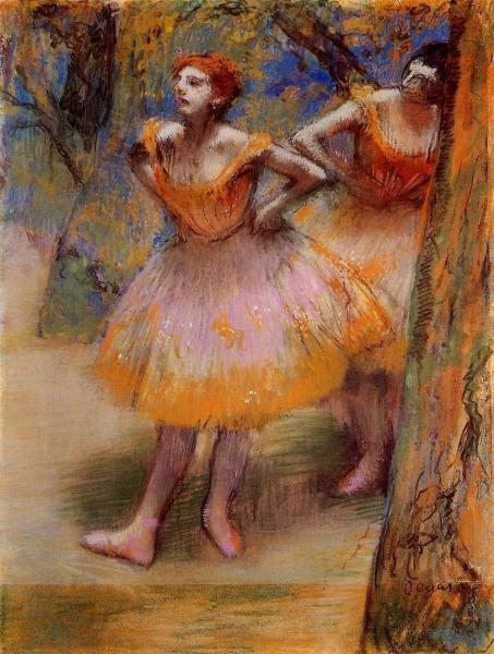 Two Dancers 2