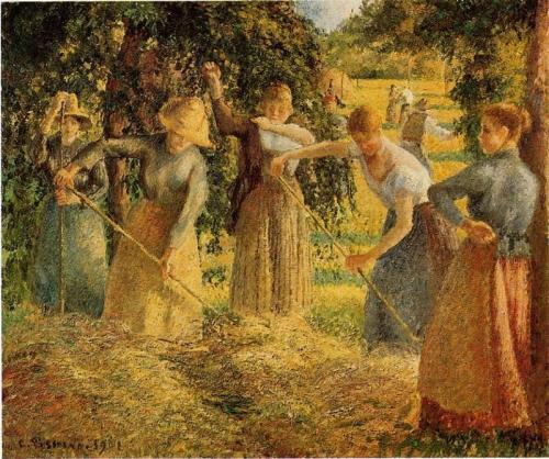 Harvest at Eragny