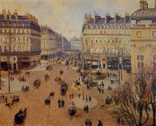 Place du Theatre Francais - Afternoon Sun in Winter