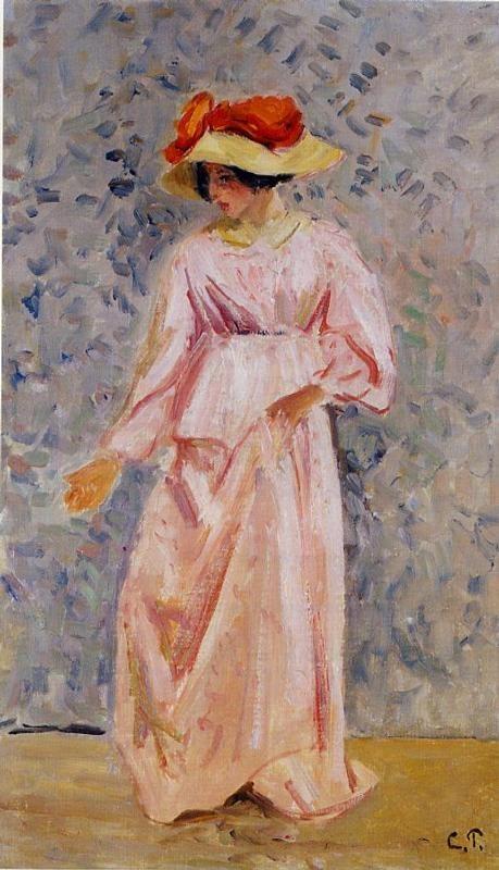 Portrait of Jeanne in a Pink Robe