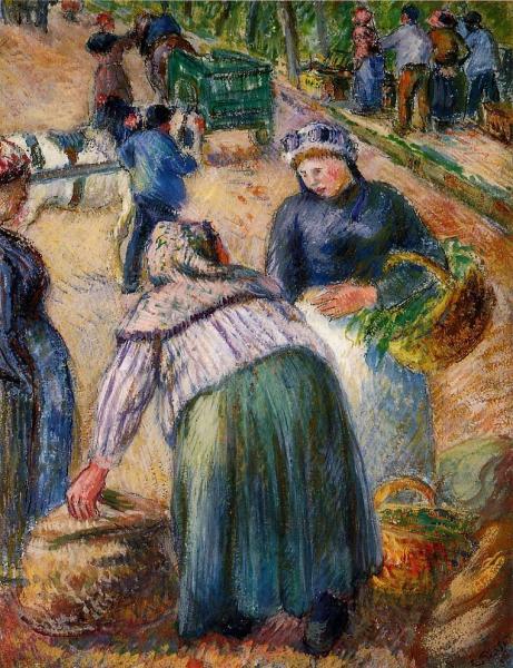 Potato Market, Boulevard des Fosses, Pontoise