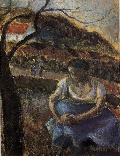 Seated Peasant Woman 1