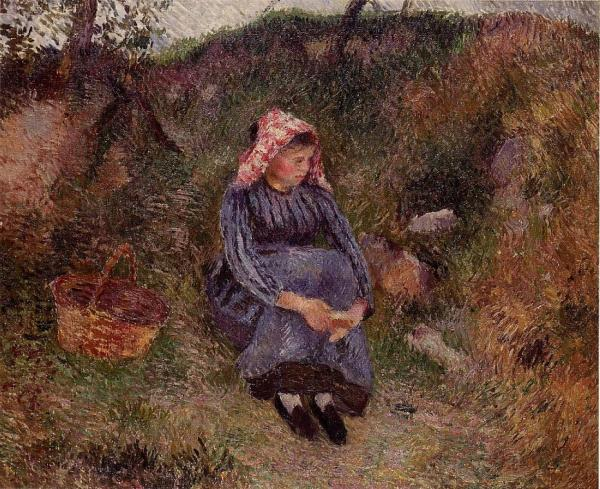 Seated Peasant Woman 2