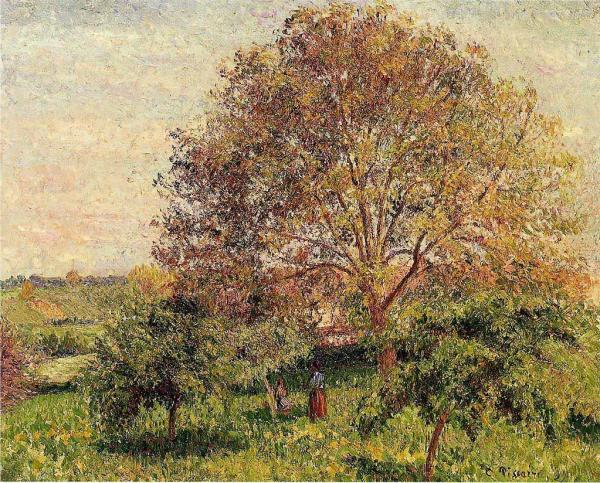 Walnut Tree in Spring,oil painting reproductions
