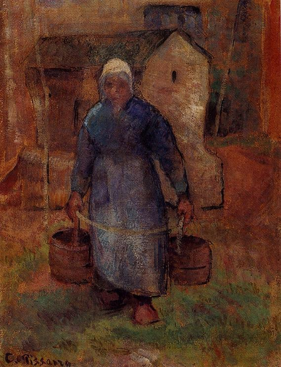 Woman with Buckets