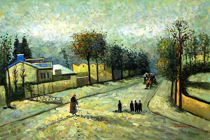 The Road from Versailles at Louveciennes