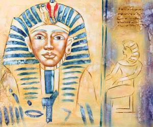 Pharaoh Portrait