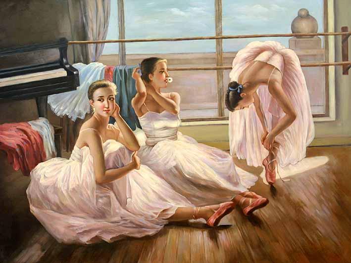 Practising Dancers, VIII