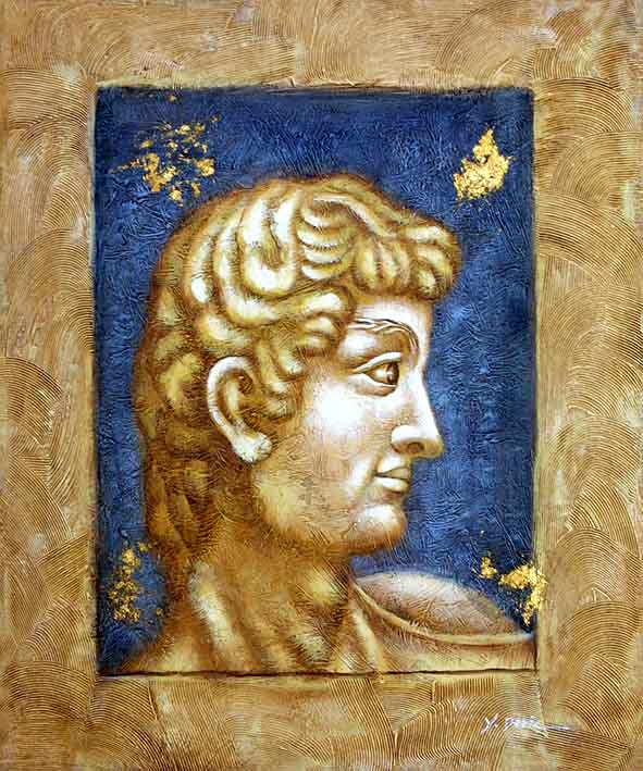 Roman Statue David