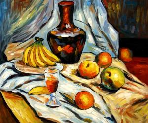 Still Life with Fruit Pieces