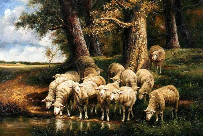 Thirsty Flock
