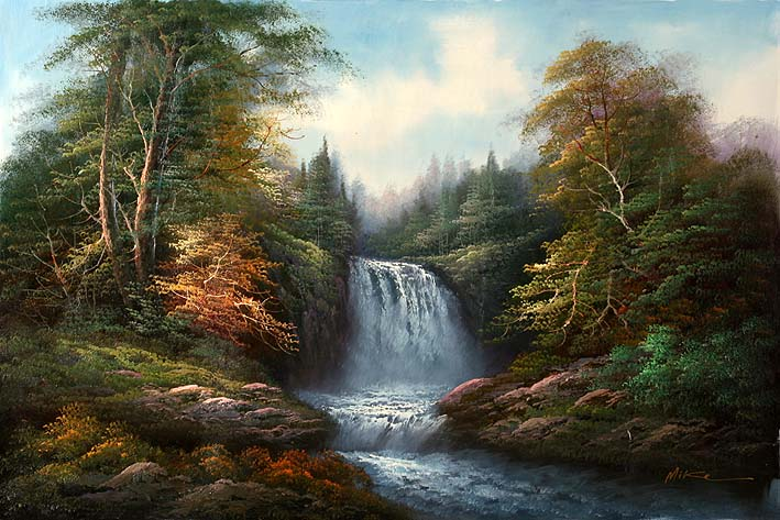 Waterfall Lanscape