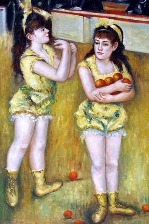 Two Little Circus Girls