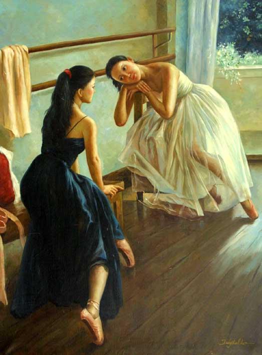Practising Dancers, V