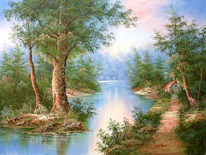 Classic Landscape of I. Cafieri