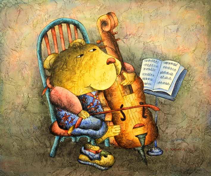 Bear Musician