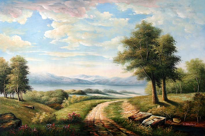 Dirt Road through Nature