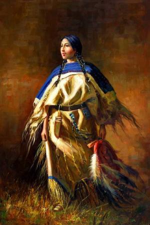 Woman of the Prairie