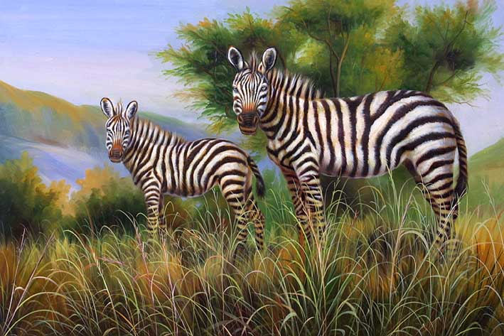 Zebra Siblings