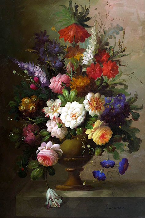Classic Floral Still Life
