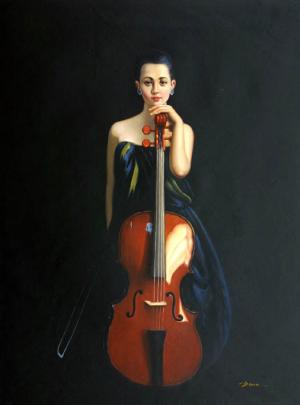 Girl & Cello, II