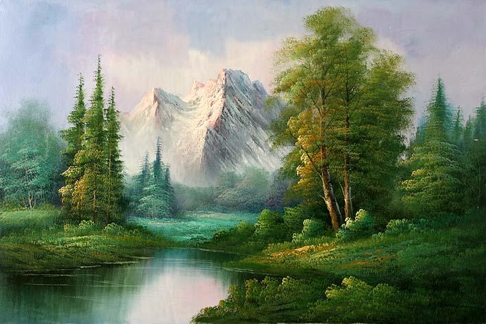 Classic Mountain Landscape