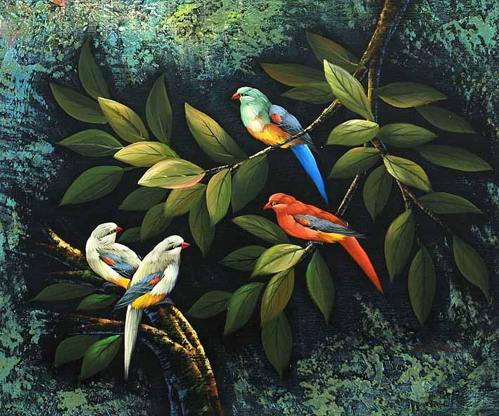 Small Tropical Birds