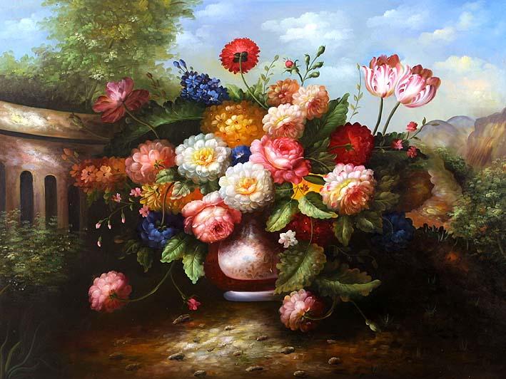 Classic Floral Still Life