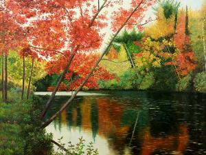 Park Lake in New England, I