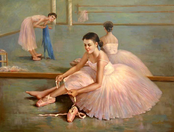 Practising Dancers, I