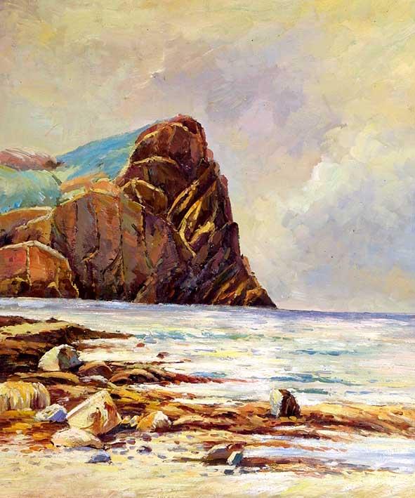 Shoreline Rocks, II